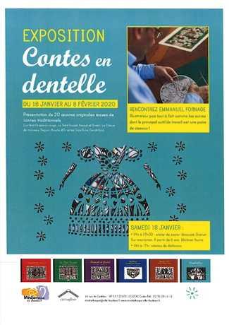 """EXPOSITION """"Contes en dentelle"""""""