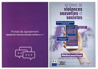 Violences sexuelles et sexistes