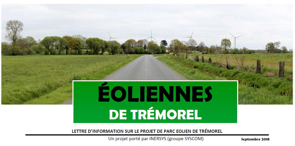 Éoliennes de Trémorel 0