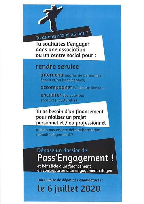 LE PASS''ENGAGEMENT                       18-25 ANS 2020062616030800001
