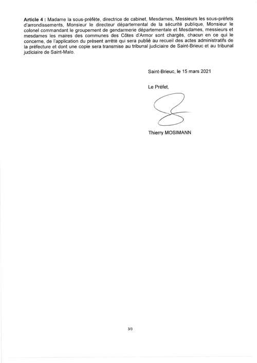 INTERDICTION Brocantes, Vide-greniers, Braderies, Déballages page3br